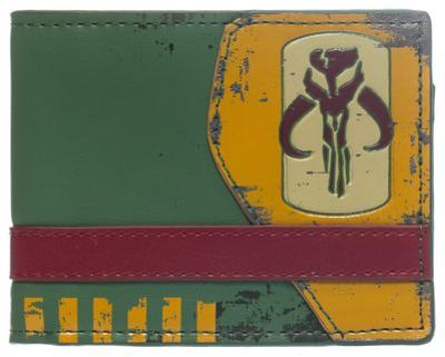Star Wars - Mandalorian Green Bi-Fold Wallet