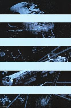 Star Wars- Milenium Falcon Panels