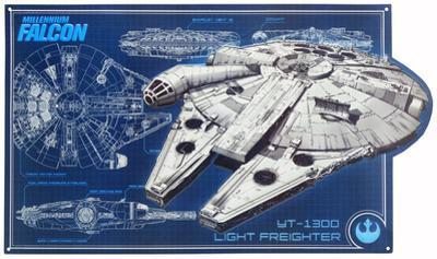 Star Wars Millenium Falcon Schematic