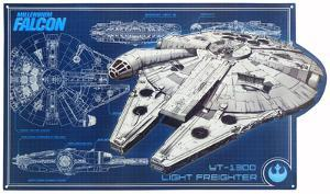 Star Wars Millenium Falcon Schematic
