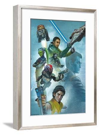 Star Wars: Rebels - Celebration Mural--Framed Poster