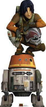 Star Wars Rebels - Ezra and Chopper Lifesize Standup