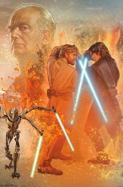 Star Wars: Revenge Of The Sith - Celebration Mural