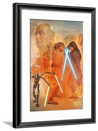 Star Wars: Revenge Of The Sith - Celebration Mural--Framed Poster