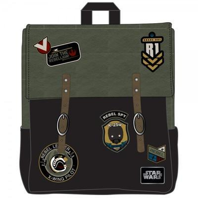 Star Wars Rogue One - Rebel Mini Backpack with Leather Patches