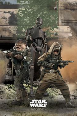 Star Wars: Rogue One- Rebel Trio