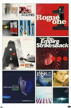 Star Wars: Saga - Album Covers by Russell Walks