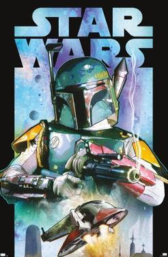 Star Wars: Saga - Boba Fett - Collage