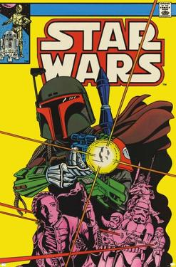 Star Wars: Saga - Boba Fett - Comic Cover