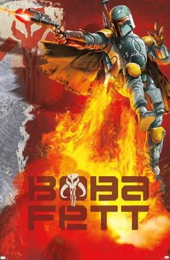 Star Wars: Saga - Boba Fett - Jet Pack Flames