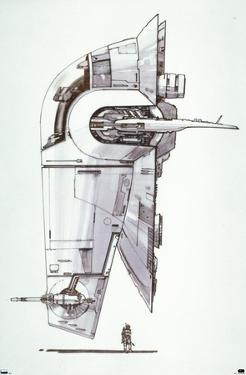 Star Wars: Saga - Boba Fett - Ship