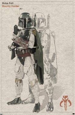Star Wars: Saga - Boba Fett - Sketch