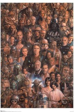 Star Wars: Saga - Character Collage