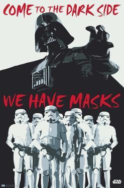 Star Wars: Saga - Dark Side Masks