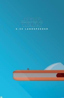 Star Wars: Saga - S. Preston Landspeeder Minimalist