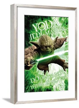 Star Wars: Saga - Yoda--Framed Poster