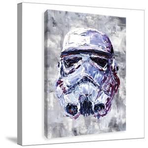 Star Wars Sorm Trooper Bust Printed Canvas