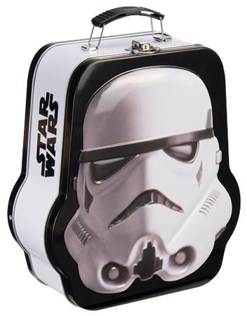 Star Wars Stormtrooper Shaped Embossed Tin Lunch Box