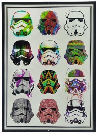 Star Wars Stormtroopers Watercolors