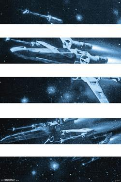 Star Wars- T-65 X-Wing Panels