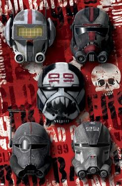 Star Wars: The Bad Batch - Helmets