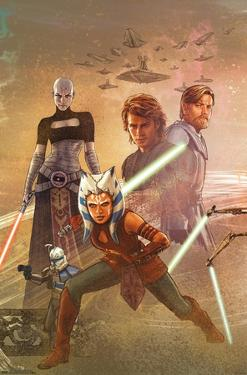 Star Wars: The Clone Wars - Celebration Mural
