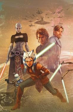 Star Wars: The Clone Wars - Celebration Mural