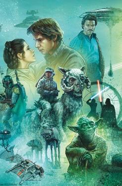 Star Wars: The Empire Strikes Back - Celebration Mural
