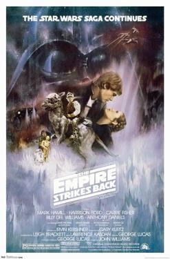 Star Wars: The Empire Strikes Back - The Saga Continues One Sheet