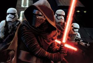 Star Wars the Force Awakens- Kylo Ren Mural