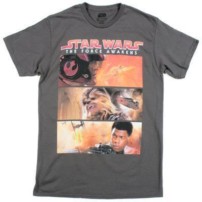 Star Wars The Force Awakens- Three Way