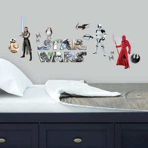 Star Wars: The Last Jedi Peel and Stick Wall Decals
