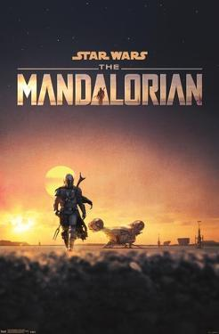 Star Wars: The Mandalorian - D23 One Sheet