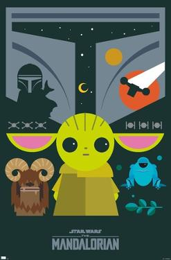 Star Wars: The Mandalorian - Geo Pop Group