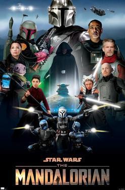 Star Wars: The Mandalorian Season 2 - Key Art by Andrew Switzer