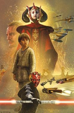 Star Wars: The Phantom Menace - Celebration Mural
