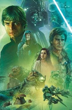 Star Wars: The Return Of The Jedi - Celebration Mural