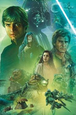 Star Wars: The Return Of The Jedi - Celebration Mural