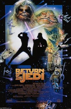 Star Wars: The Return Of The Jedi - One Sheet