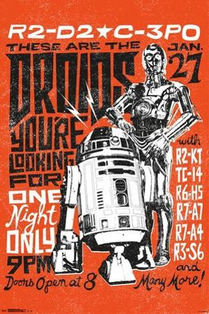 Star Wars- These Are The Droids Tour
