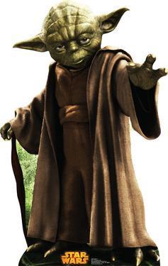 Star Wars - Yoda Lifesize Cardboard Cutout