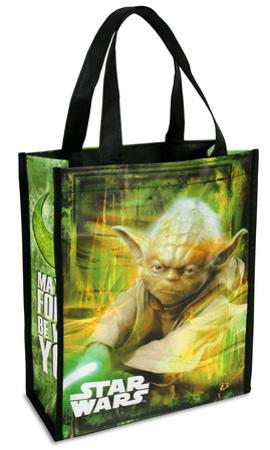 Star Wars - Yoda Small Recycled Shopper Tote Bag