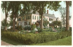 Stark House, Manchester, New Hampshire
