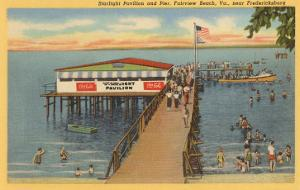 Starlight Pavilion and Pier, Fairview Beach, Virginia