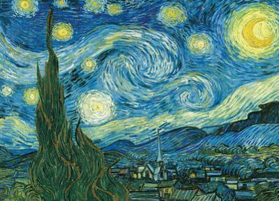 Starry Night by Vincent Van Gogh 1000 Piece Puzzle
