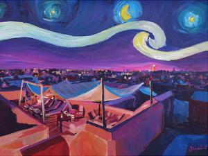 Starry Night In Marrakech by M Bleichner