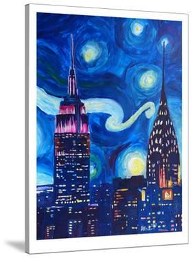 Starry Night In New York by M Bleichner