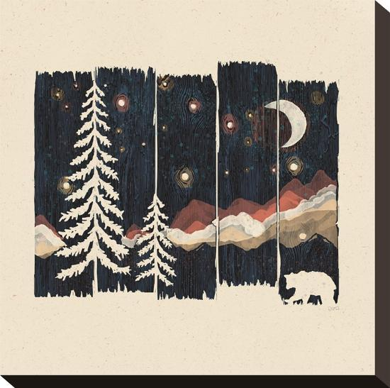 Starry Night In The Mountains-NDTank-Stretched Canvas