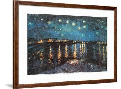 Starry Night over the Rhone, c.1888-Vincent van Gogh-Framed Poster