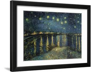 Starry Night over the Rhone  c.1888